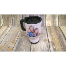 THERMAL MUG WITH IMAGE/TEXT